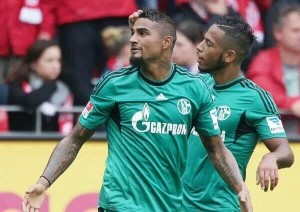 Ghana are sweating over the fitness of key midfielder Kevin-Prince Boateng for next week's crucial World Cup qualifier against Egypt after he was forced off during a league match in Germany on Saturday.