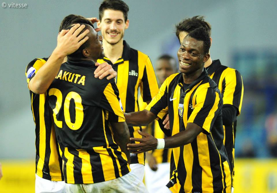 Christian Atsu scored his first goal of the Dutch top-flight on Saturday