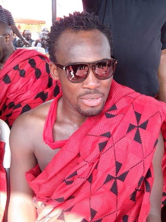 Michael Essien mourns his late dad