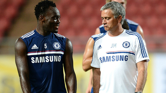 Essien insists father and son relationship with Mournho remains intact