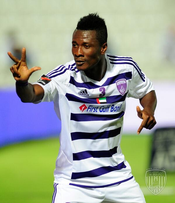 Asamoah Gyan back in scoring form for Al Ain