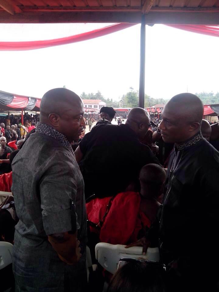 PHOTOS: Michael Essien's father's funeral - Ghanasoccernet News