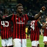 Sulley Muntari suffers injury in AC Milan Serie A game