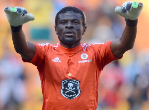 Orlando Pirates goalkeeper Fatau Dauda