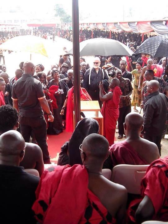 Michae Essien's father's funeral