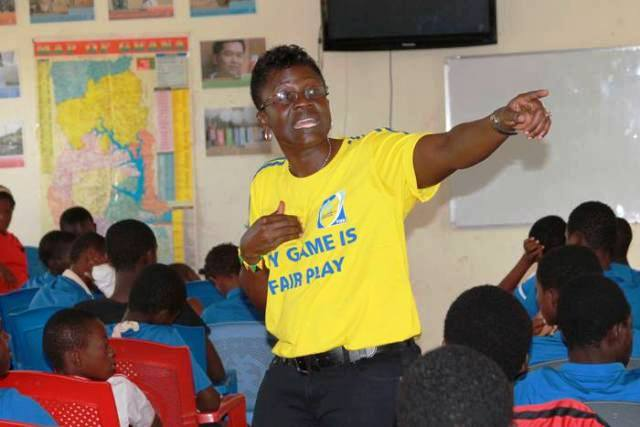 Ex-Black Queens player Mercy Tagoe targets to become first Ghana FA president