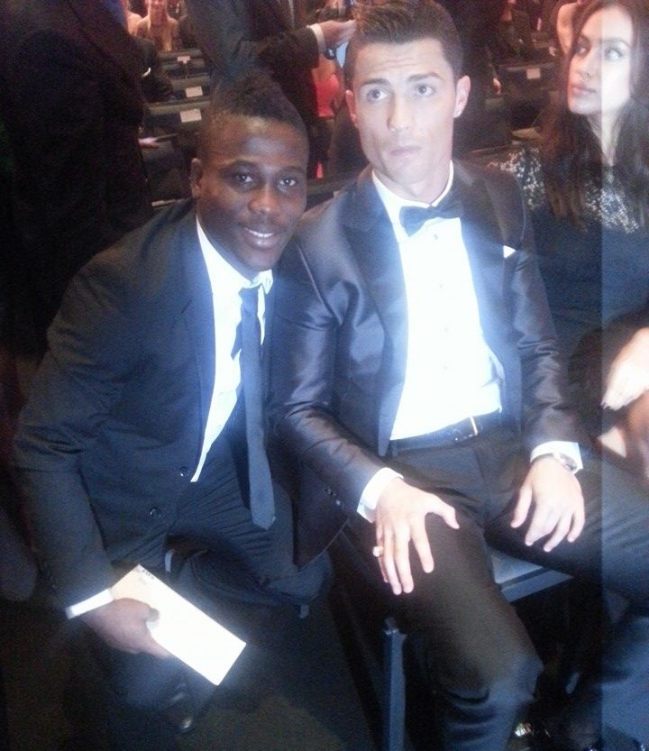 Ebenezer Assifuah thrilled after meeting Ronaldo at FIFA Gala