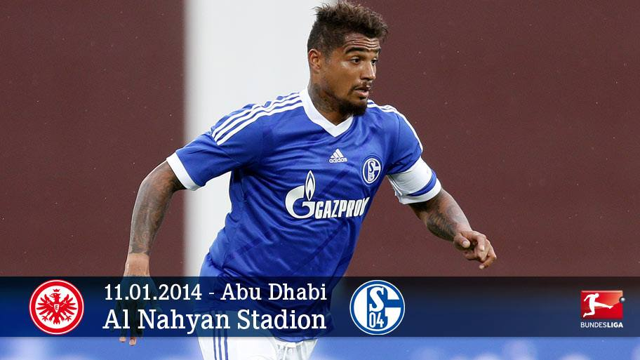 Kevin-Prince Boateng scored for Schalke in their friendly win