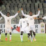 Local Black Stars land in Cape Town for CHAN final against Libya