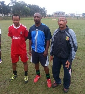 Abdul Ahmed Razak training with Kotoko