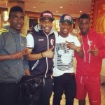 Ghanaian trio Yartey, Assifuah and Ebo Andoh hang out in Cyprus