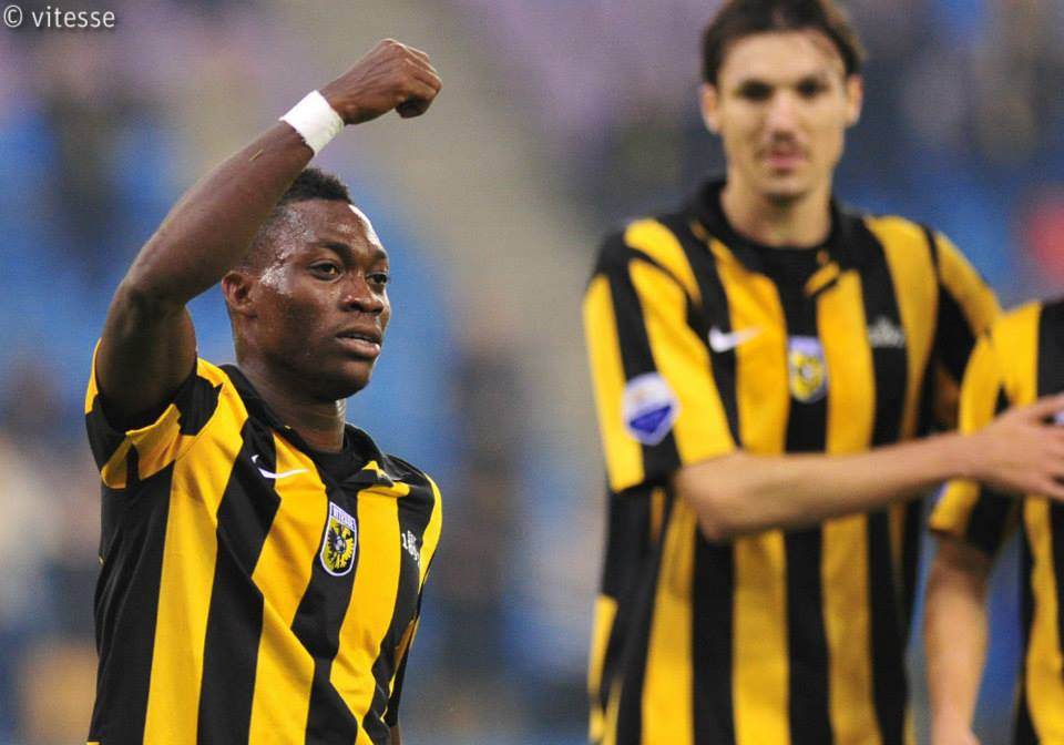 Christian Atsu scored for Vitesse Arnhem.