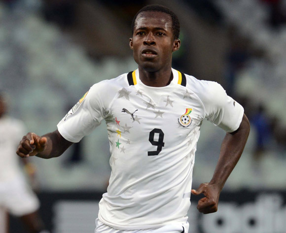 Seidu Bansey of Ghana during the 2014 CAF African Nations Championships match between Ethiopia and Ghana on the 21 January 2014 at Free State Stadium