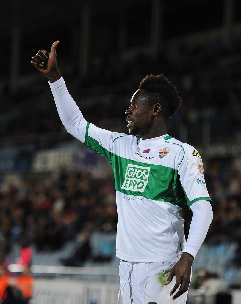 Boakye-Yiadom draws positives from Elche's heavy defeat at Barcelona