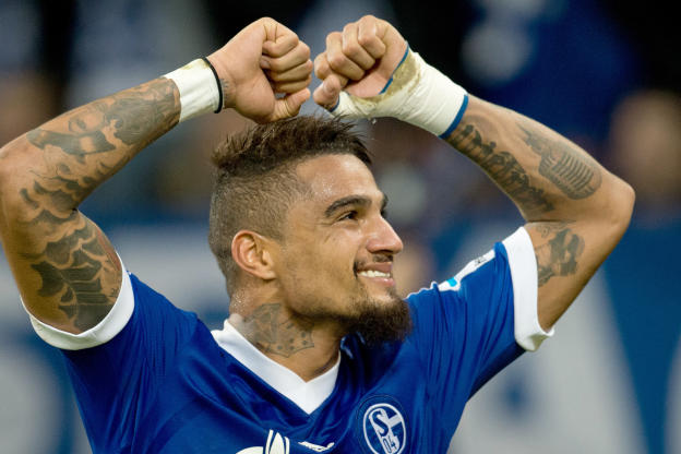 Kevin-Prince Boateng claims he is overcoming a knee injury.