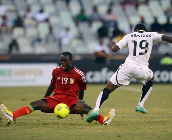 Kennedy Boateng in action for Ghana at the CHAN tournament.