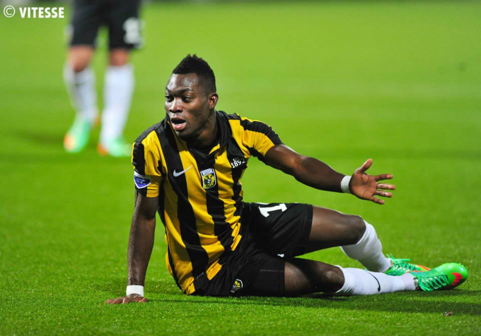 Christian Atsu scored for Vitesse Arnhem