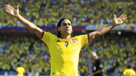 Colombia striker Radamel Falcao