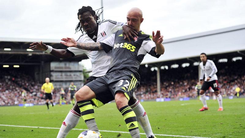 Derek Boateng in action for Fulham