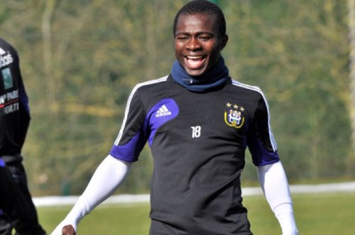 Frank Acheampong has returned for Anderlecht