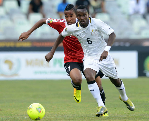 Michael Akuffo in action for Ghana.