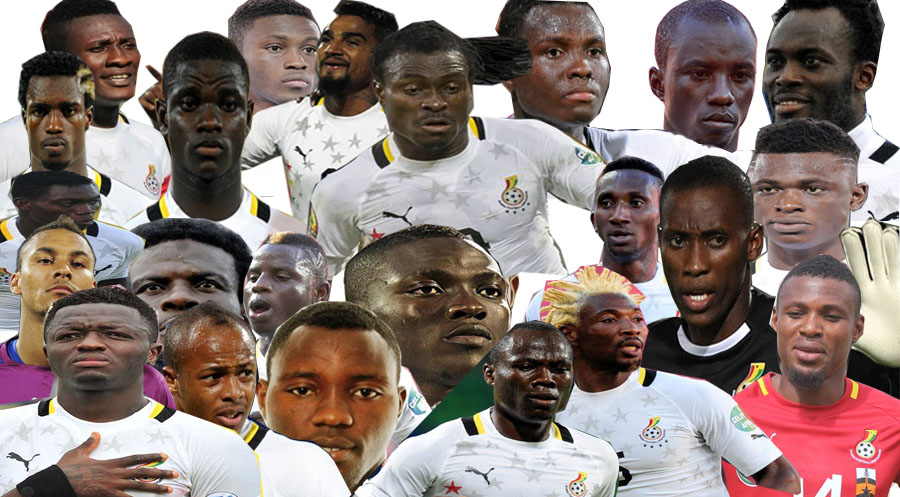 Felix Aboagye's Final 23 Man squad for Rio - Image Source: Akyereko Frimpong