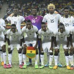 Video: Watch how Black Stars sing emotionally before World Cup playoff in Egypt