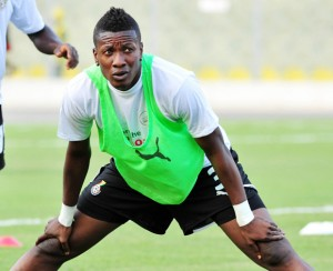 Several English top-flight clubs fighting to beat the drop have fixed their sights on Ghana international forward Asamoah Gyan.