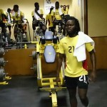PICTURES: Local Black Stars training at Mamelodi Sundowns