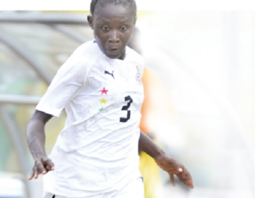 Black Princesses striker Janet Ayieyam.