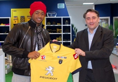 Jordan Ayew has joined Sochaux for the remainder of the season