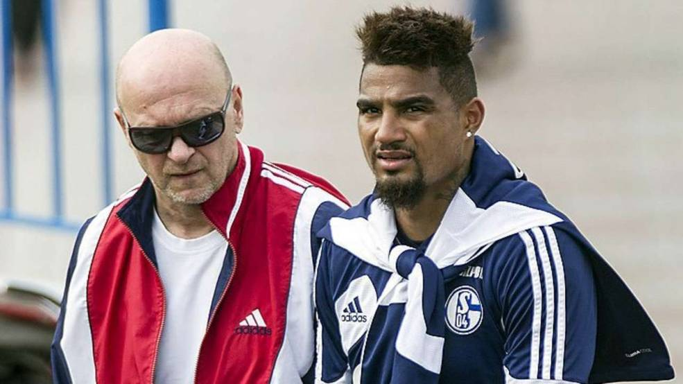 Kevin-Prince Boateng and the knee specialist in Doha