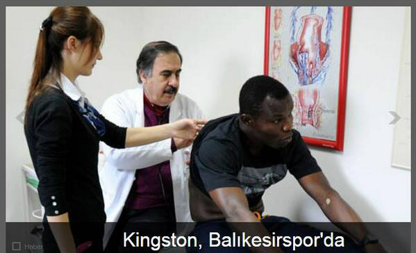 PICTURES: Richard Kingson completes move to Balikesirspor