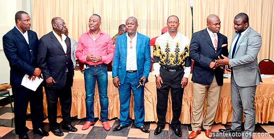 Kotoko Africa Committee members.