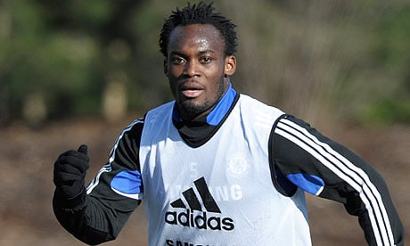 Michael Essien could join Napoli.