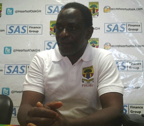 Hearts of Oak coach Mohammed Polo