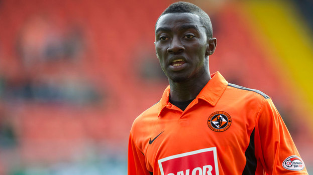 Prince Buaben could be heading back to the Scottish Premier League.