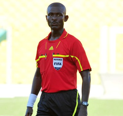 Referee Joseph Lamptey set to officiate at 2014 CHAN.