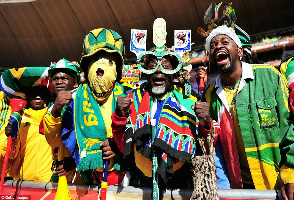 South African fans to support Black Stars