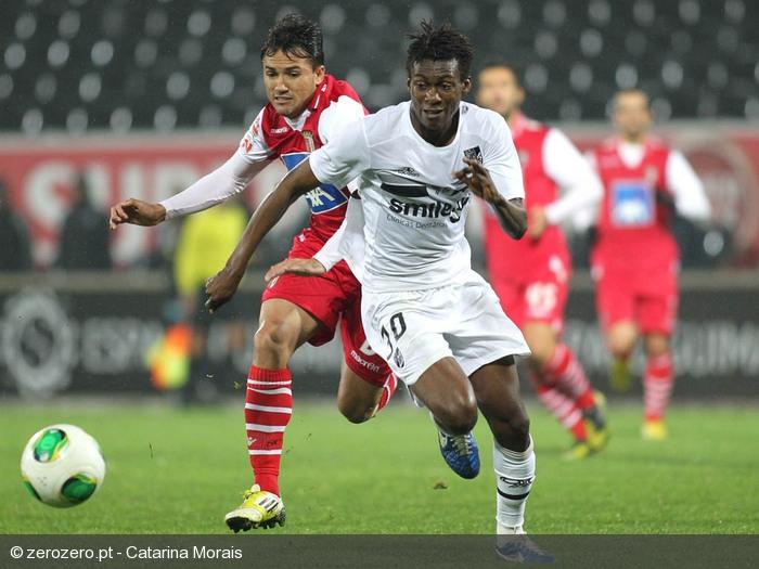 David Addy in action for Vitoria Guimaraes.