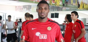 Ghana defender Jerry Akaminko has been hit with a three-match ban in Turkey over an allegation of a violent tackle, GHANAsoccernet.com can exclusively reveal.