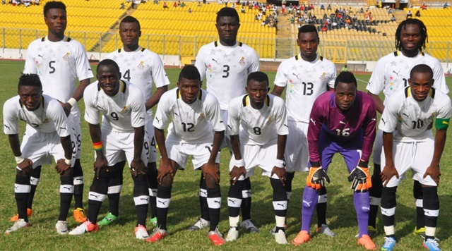 Ghana's squad at the CHAN tournament