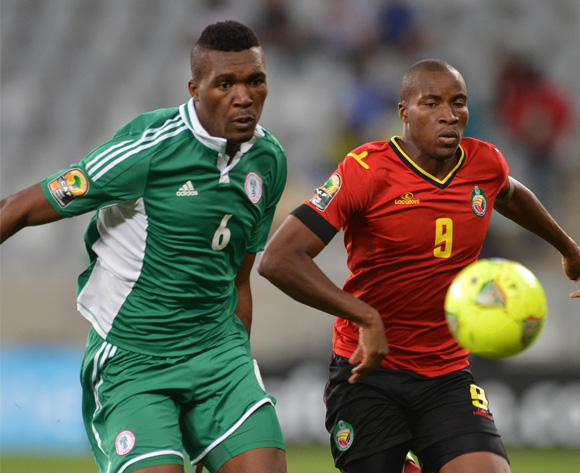 Nigeria's Egwuekwe vs Mozambique on Wednesday