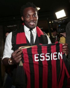 Chelsea have agreed a deal to release their legendary Ghanaian midfielder Michael Essien to Italian giants AC Milan after NINE YEARS at the English club.