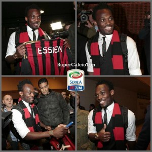 Ghana midfielder Michael Essien says AC Milan's new manager Clarence Seedorf persuaded him to leave Chelsea and join the Italian club after a telephone conversation this week.