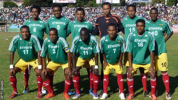 Ethiopia lost 2-1 to Nigeria in a pre-CHAN friendly.