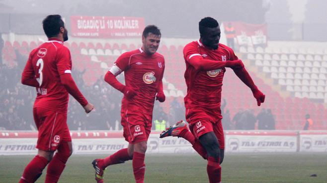 Kwame Karikari scored his 11th goal of the season for Balikesirspor