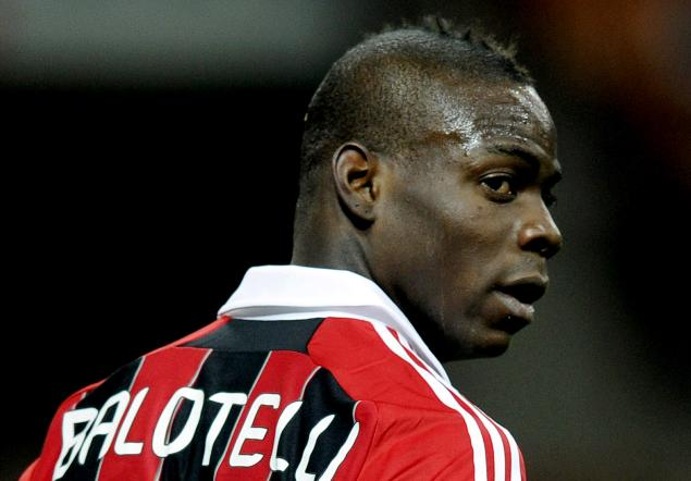 Mario Balotelli has ruled out leaving AC Milan this January.