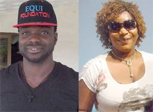 Divorced: John Mensah and wife Henrietta