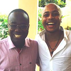 Andre Ayew visits Ghana FA chief Nyantakyi, assure country of quick injury return